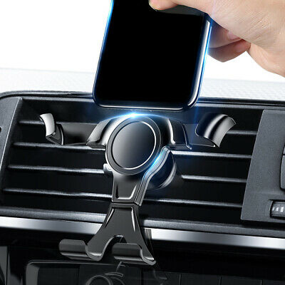 1x Gravity Car Phone GPS Mount Stand Holder Air Vent Clip Bracket Accessories