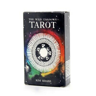78pcs the Wild Unknown Tarot Deck Rider Waite Oracle Set Fortune Telling Cards