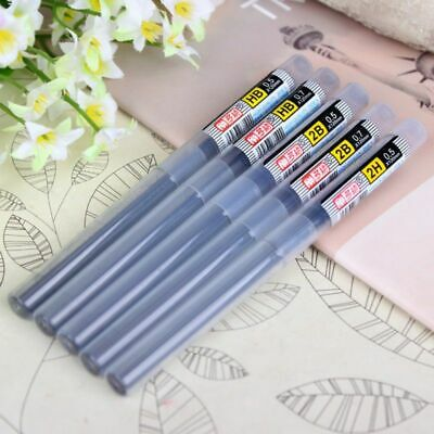 Pencil Lead Refill Tube Quality 2B HB Automatic Mechanical School Office Supply