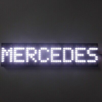 MERCEDES plate leds with car plug truck