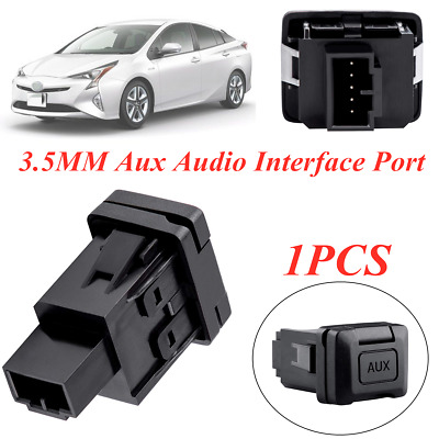1PC 3.5MM Aux Audio Interface Port fit for 2006-2011 Honda Civic 39112-SNA-A01