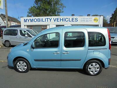 Renault Kangoo Expression Wheelchair Scooter Accessible WAV Car. 14000 Miles