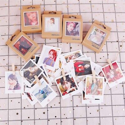 40Pcs Kpop BTS Photo Cards BLACKPINK TWICE GOT7 IZONE SEVENTEEN Lomo Cards Gift