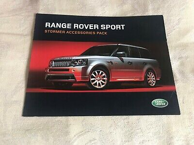 Range Rover Sport with Stormer Pack Brochure Apr 2006 (English Text Version)