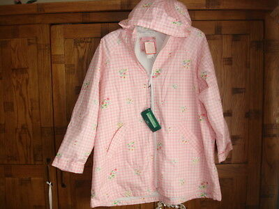 Girls M&S Water/Stain Repellent Coat  -  Age 11-12 Years  BNWT