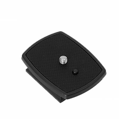 For DSLR SLR Digital Camera Tripod Quick Release Plate Adapter Mount Head Black