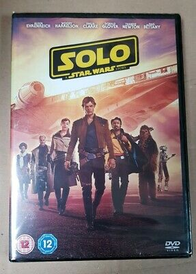 Solo: A Star Wars Story Dvd New/Sealed. Free delivery
