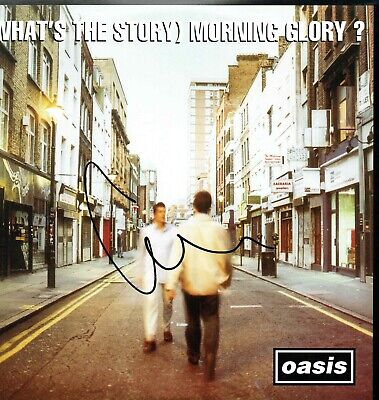 Liam GALLAGHER Signed Oasis Vinyl Album Whats the story Morning Glory AFTAL COA