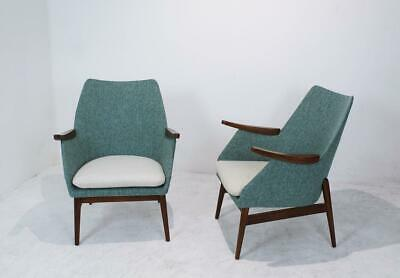 Vintage Hungarian Mid-Century Cocktail Chairs, 1960s