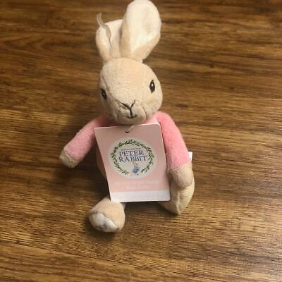 Rainbow Designs PETER RABBIT MY FIRST FLOPSY BUNNY Baby/Toddler Soft Toy BN