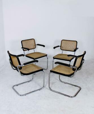 One Bauhaus  Thonet Cantilever Armchair Model B64 by Marcel Breuer, 1927