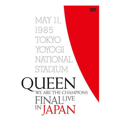 QUEEN WE ARE THE CHAMPIONS FINAL LIVE IN JAPAN DVD+BOOK Ltd/Ed w/Tracking# JAPAN