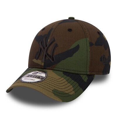 New Era League Essential 9Forty New York Yankees Strapback Baseball Cap-  Camo