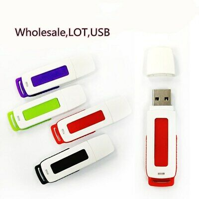 LOT Bulk 64MB USB 2.0 Flash Drive Jump Memory Stick Thumb Pen Storing Data (Red)