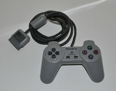 Two Original OEM Sony Playstation 1 PS1 SCPH-1080 Gamepad Controllers