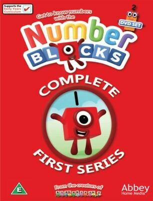 Number Blocks: Complete First Series (DVD 2 DISC BOX SET, 2018) *NEW/SEALED*