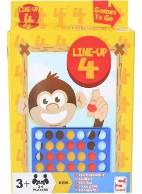 Sambro Line-Up 4 - Simply Connect Four Discs in a Row to Win! Travel Board Game