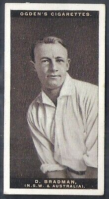 Ogdens-Australian Test Cricket Ers-#06- Don Bradman