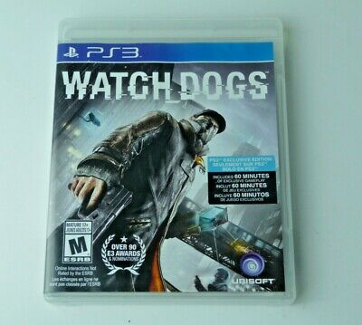 Watch Dogs Playstation 3 Ps3 Good Condition Tested