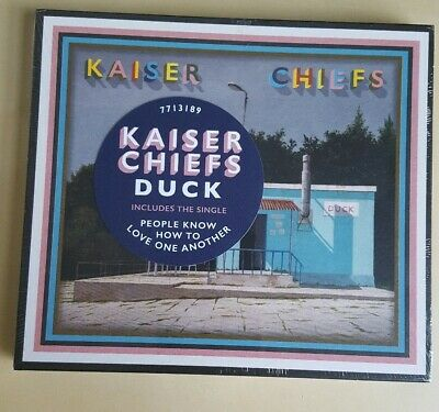 Kaiser Chiefs new album Duck CD Brand NEW and sealed