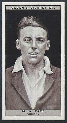 Ogdens-Cricket 1926-#45- Sussex - Tate