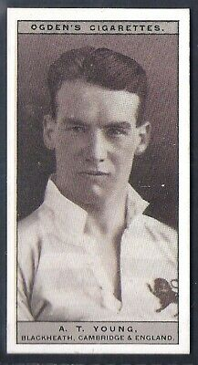 Ogdens-Famous Rugby Players-#12- Blackheath - Young