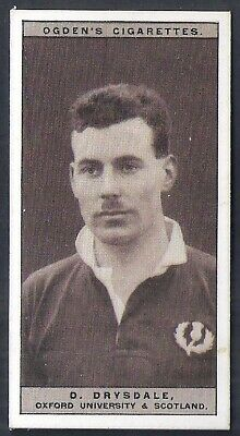 Ogdens-Famous Rugby Players-#17- Oxford - Drysdale