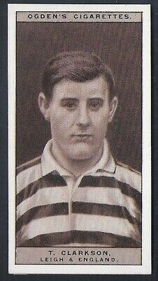 Ogdens-Famous Rugby Players-#31- Leigh - Clarkson