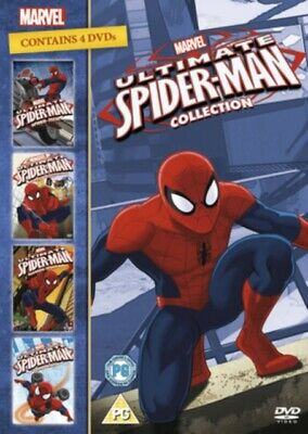 Ultimate Spider-Man: Collection (DVD 4 DISC BOX SET, 2012) *NEW/SEALED*