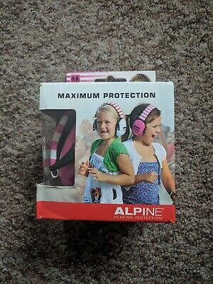 Alpine Muffy Children's Earmuffs Hearing Protection.