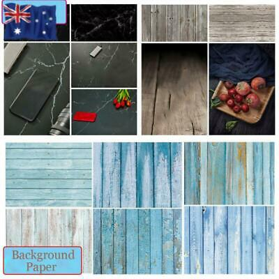 Background Photo Props  Double-sided Wood Grain Photography Backdrop Paper