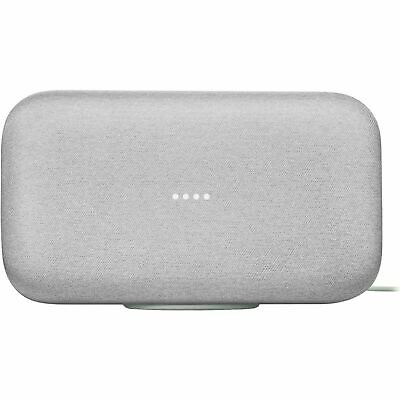 Google Home Max - Chalk- Smart Home Automation Voice Activated Speaker