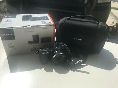*Sony Alpha A6000 24.3MP Digital Camera - Black KIT (with 16-50mm Lens) & MORE*