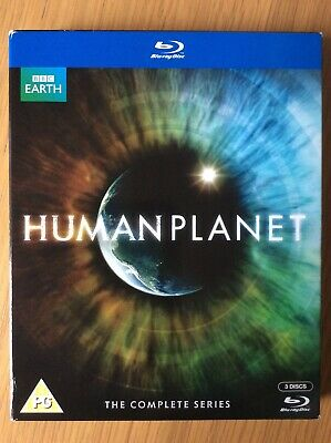 Human Planet - Complete Series (3 Disc BBC Blu-Ray) John Hurt