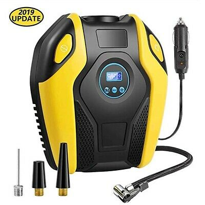Digital Tire Inflator for Car W/Pressure Gauge - Portable Air Compressor - Elect