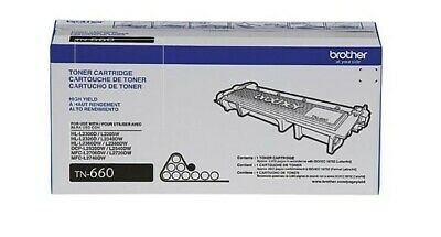 Brother TN660 High-Yield Toner Cartridge Black BRAND NEW | GENUINE | OEM | NIB