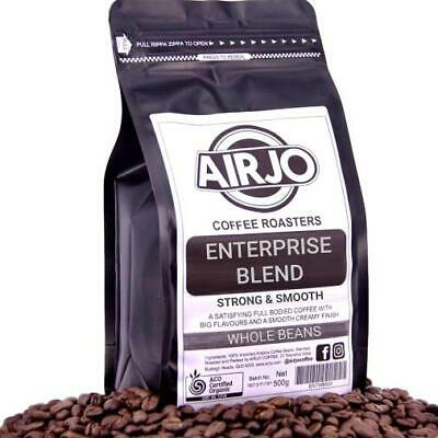 AIRJO Coffee Beans Roasted - Enterprise Blend - 250g - Free & Fast Shipping