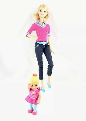 Barbie Careers Teacher Playset Doll And Student Dressed Blonde Articulated Legs