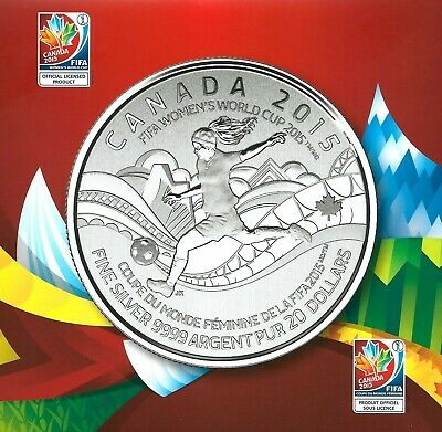 2014 $20for$20 Commemorative FIFA COA/Cardfolder Only, NO COIN! #16 in Series!