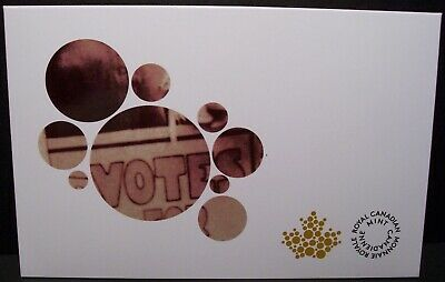 2016 CANADA $1 WOMEN'S RIGHT TO VOTE Loonie 5-Pack EMPTY ENVELOPE ONLY NO COINS!