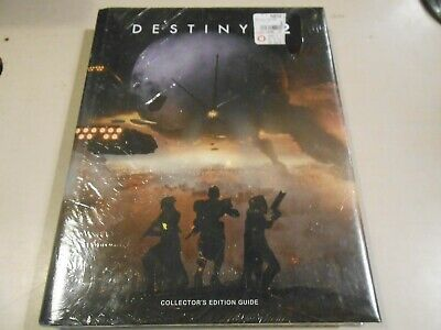 Destiny 2 Collector's Edition Official Guide Book NEW/SEALED Hardback Cover