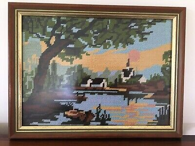 TAPESTRY Completed Professionally Framed