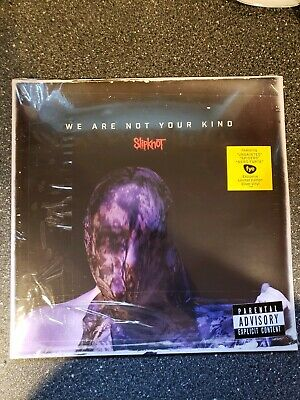 SLIPKNOT We Are Not Your Kind SILVER Exclusive Record Vinyl NEW!