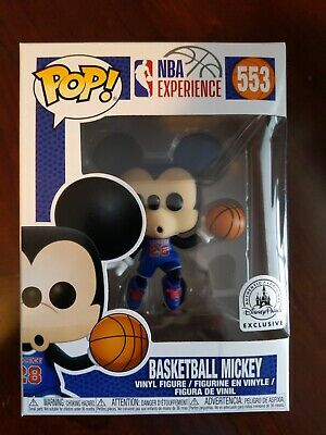 Funko POP! Disney NBA Experience Basketball Mickey #553 Disney Parks Exclusive