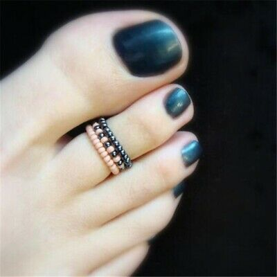 Celebrity Toe Ring Jewelry Beach Girl Women Foot Rhinestone Barefoot Finger