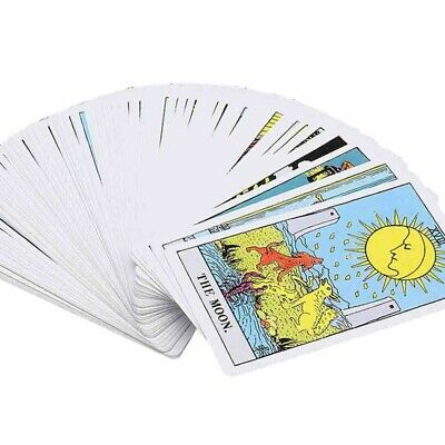 Tarot Deck Game 78 Cards English Version Future Telling Sealed + Case Toys