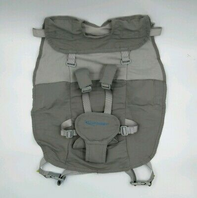 Infant Airplane Hammock Seat Flyebaby Travel High Chair Baby Comfort System Gray