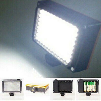 Video Light Dimmable Rechargeable Panel Lamp for DSLR Camera 112 LED