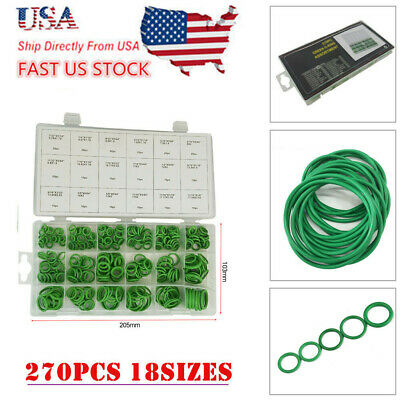 270x Car A/C System Air Conditioning o-ring insulation gaskets seals tool kit US