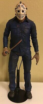 """NECA Friday the 13th Part 5 Jason Voorhees ( Roy Burns ) Custom 7"""" Scale Figure."""